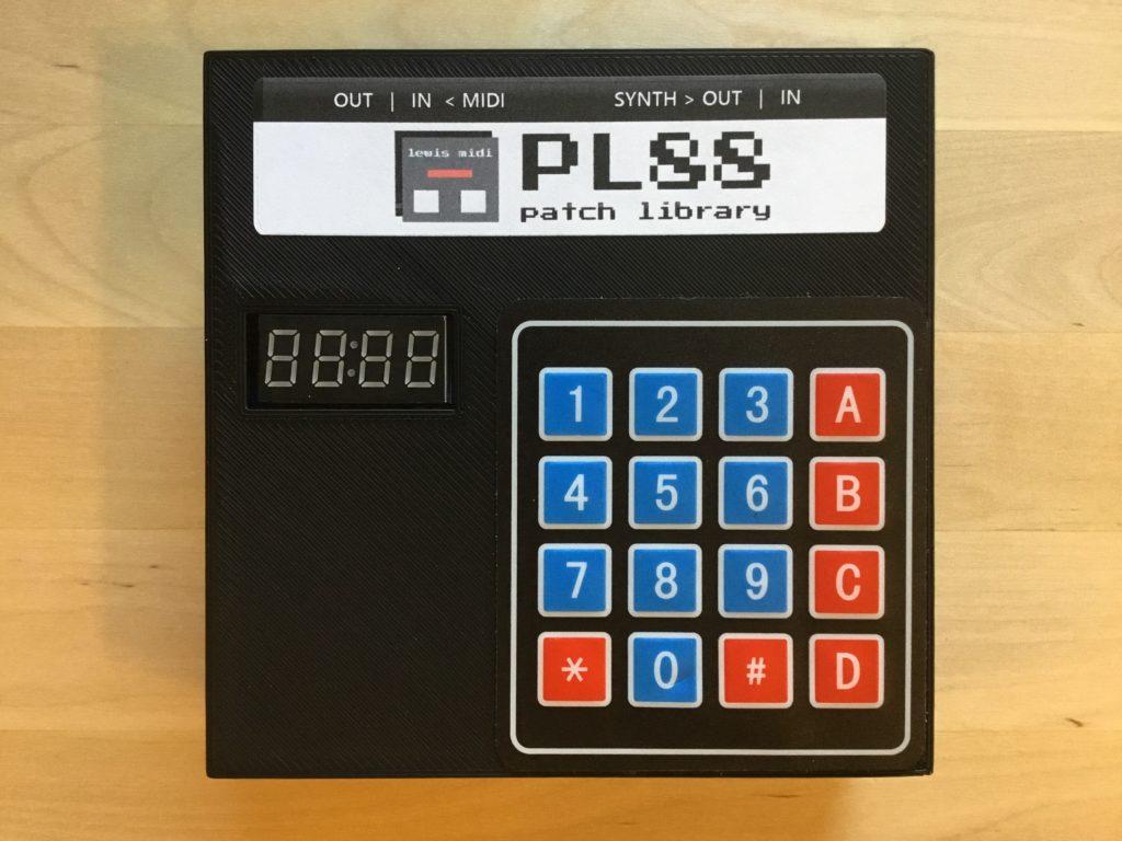 PL88 Patch Memory Module – LEWISMIDI